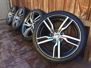 """GENUINE HSV VF VE R8 GEN-F2 GTS CLUBSPORT 20"""" WHEELS EXCELLENT COND Dandenong Greater Dandenong Preview"""