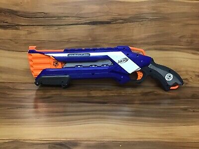 Nerf N-Strike Elite Blue Roughcut 2x4 shotgun, fully tested and working