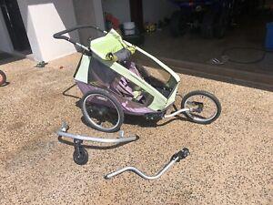 Kid carrier/bike trailer