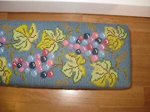 Unusual church embroidered vintage kneeler, ideal for wedding Unley Unley Area Preview