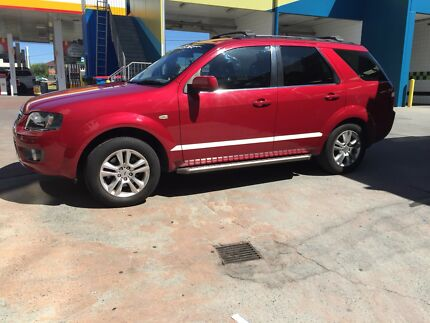 2011 DUAL FUEL  7 Seater Ford Territory TS Limited edition
