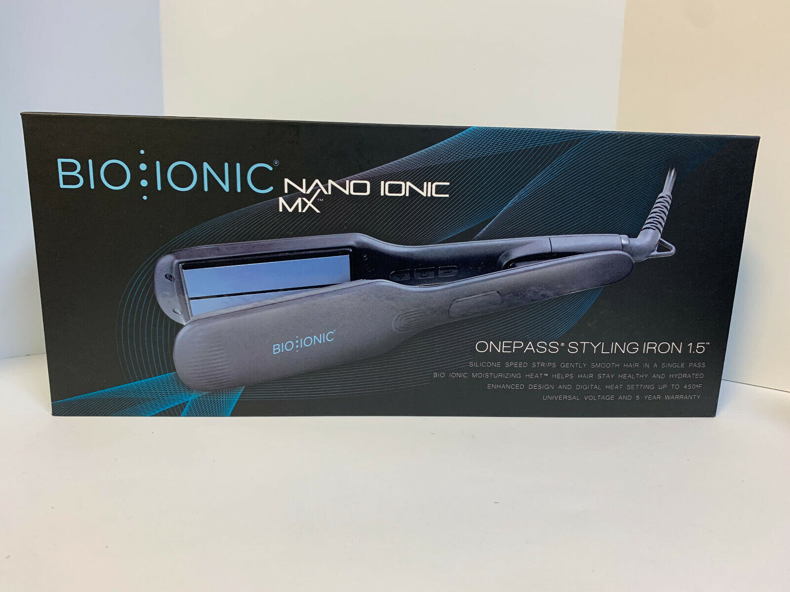 Bio Ionic Nano Ceramic OnePass One Pass Straightening Flat