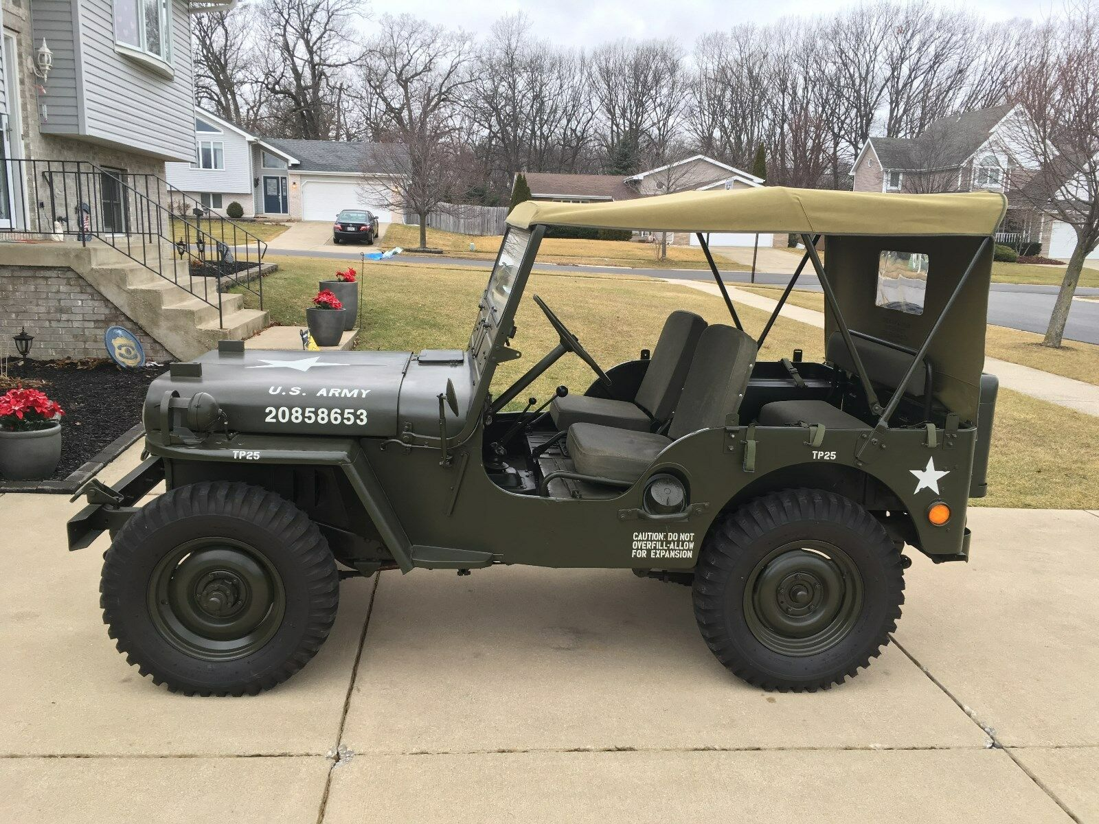 1952 willys overland m38 jeep used willys overland for sale in crown point indiana search. Black Bedroom Furniture Sets. Home Design Ideas
