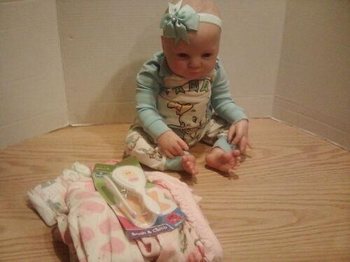 Reborn Baby Girl Doll (W/ Box Opening)
