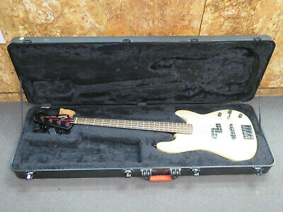 2012-2013 Fender White Jazz Bass Special Guitar Made in Mexico MIM*Hard Case