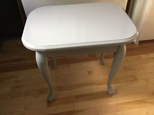 Grey single side tables- avail-