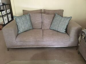 Modern 2-Seater Sofa - As good as new! Rose Bay Eastern Suburbs Preview