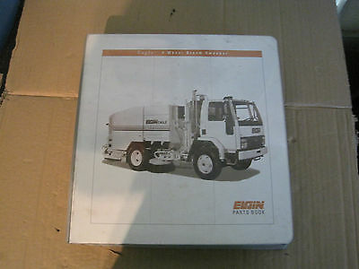 Elgin Eagle Street Sweeper Parts Book 1999 Lot M256