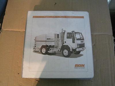 Elgin Eagle Street Sweeper Parts Book 1999 Lot M256