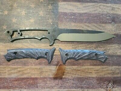 Gerber Gear LHR Prototype Knife ~ Matt Larsen ~ Chris Reeve ~ William Harsey Jr.