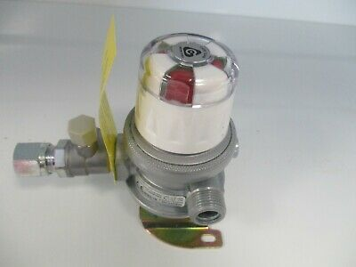 Integral Two Stage Caravan Regulator Automatic Changeover. C/W 8mm outlet LPG