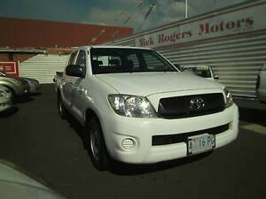 From only $49 p/week on finance* 2008 TOYOTA HILUX WORKMATE D/CAB Montrose Glenorchy Area Preview