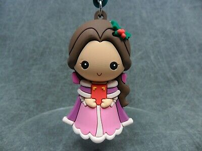 Disney Christmas NEW * Belle Clip * Blind Bag Key Chain Beauty and the Beast ()