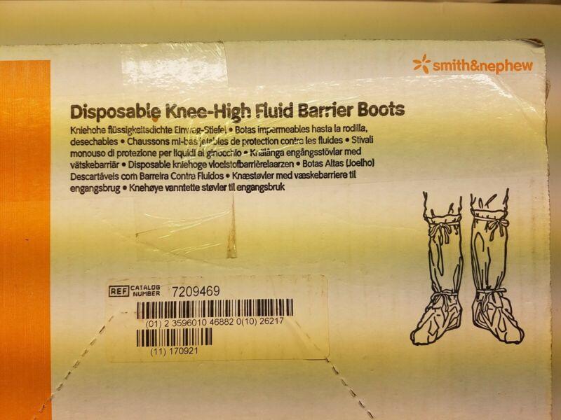 SMITH & NEPHEW - DISPOSABLE KNEE-HIGH FLUID BARRIER BOOTS/ MEDIUM-BOX/ 50 PAIRS