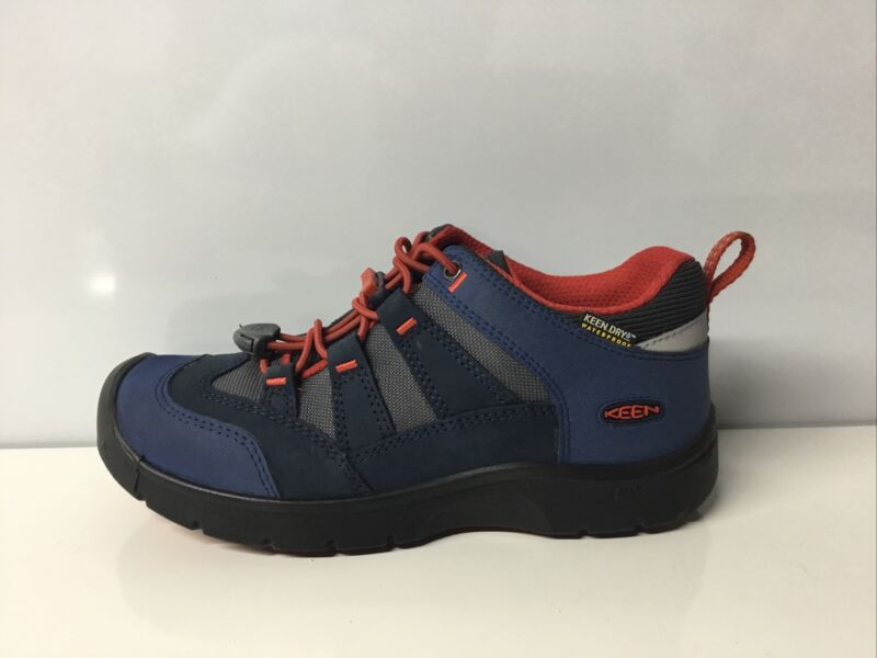 Keen Waterproof Trail Hiking Shoes Blue,Youth Size 2✨