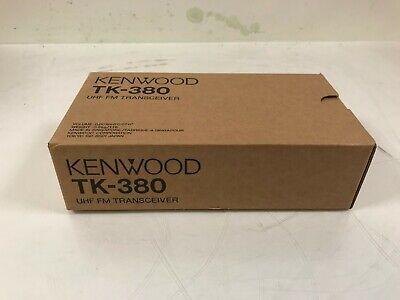 New Old Stock Kenwood Tk-380 Uhf Fm Transceiver Radio 400-430mhz