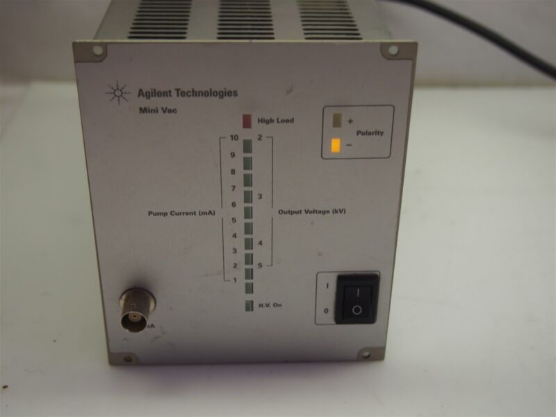 Agilent Technologies Mini Vac Ion Pump Controller 9290290
