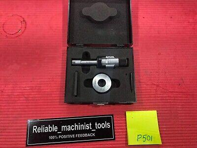 Fowler Bowers Vernier Micrometer Intrimik .625-.750 In W Rings P501