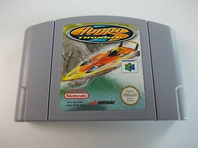 HYDRO THUNDER NINTENDO N64 VIDEO GAME CARTRIDGE (TESTED AND WORKING) PAL
