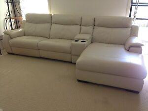 3 Piece Electric Leather Lounge Point Vernon Fraser Coast Preview