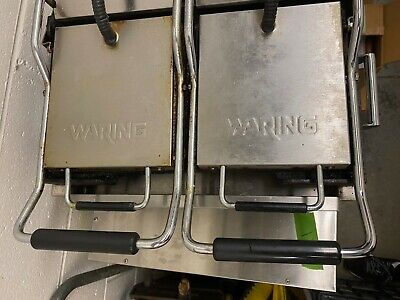 Pre-owned Commercial Grade Waring Panini Grill Sandwich Maker Wpg300