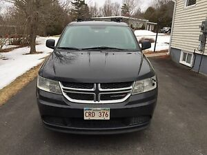 2012 Black Dodge Journey