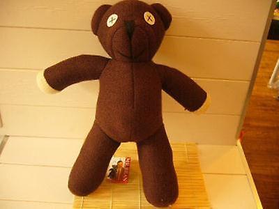 1x Mr. Bean Teddy Bear Soft Plush Figure doll 10'' Kid Toy Birthday Gift