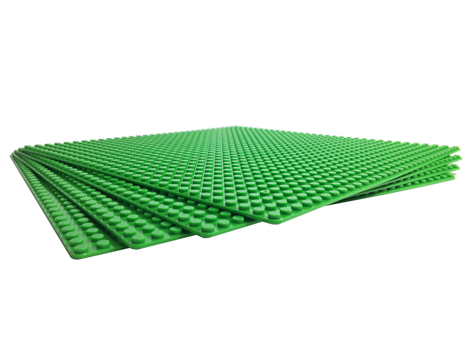 Trans Clear Brick Building Baseplate Base Plate Four 6x12 Areas Lego Compatible