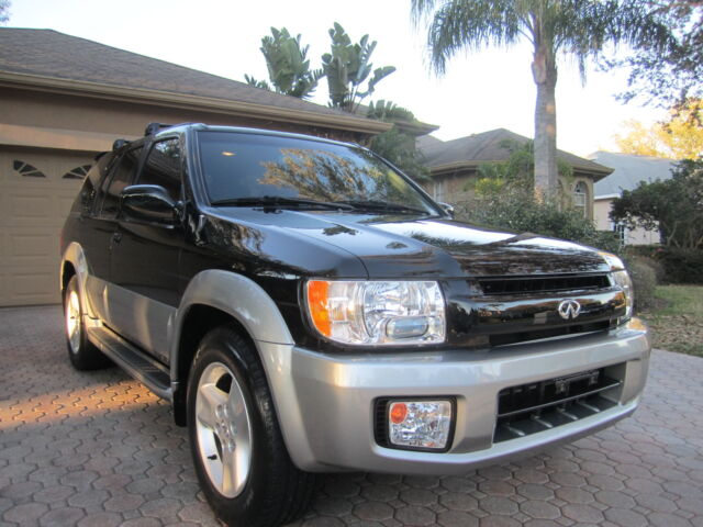 2001 infiniti qx4 4wd navagation bose leather htd seats towing 1 fl owner mint used infiniti. Black Bedroom Furniture Sets. Home Design Ideas