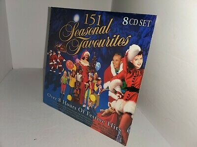 NEW FACTORY SEALED SEASONAL FAVORITES 151 CLASSIC CHRISTMAS SONGS 8 CD SET ()