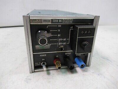 Fluke 731b Dc Reference Standard Calibrate Standardize Normalize Monitor Drift
