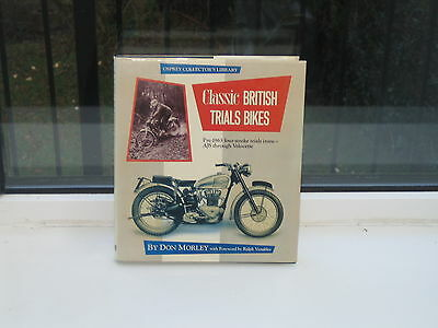 Classic BRITISH  FOUR STROKE TRIALS BIKES by DON MORLEY