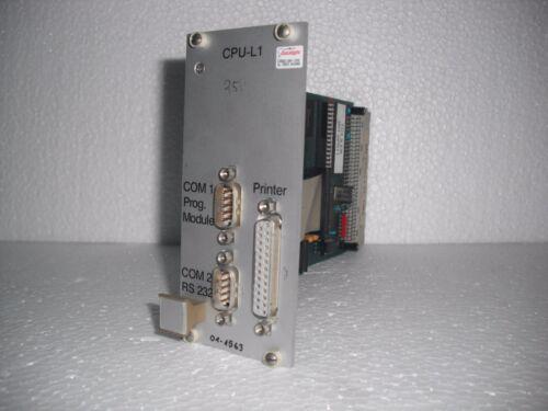 Cpu-l1 01-1563 Module
