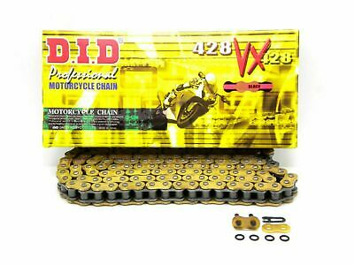 DID 428 x 132 Links VX Pro-Street Series Sealed X-ring Gold Chain