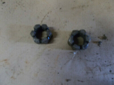 John Deere Lla And M Front Wheel Spindle Nut 14h534t