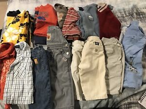 75+ piece lot of Name Brand infant boy clothes