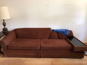 Big comfy couch - free to a good home