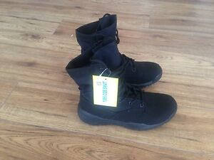 BLACK TACTICAL BOOTS MENS 11