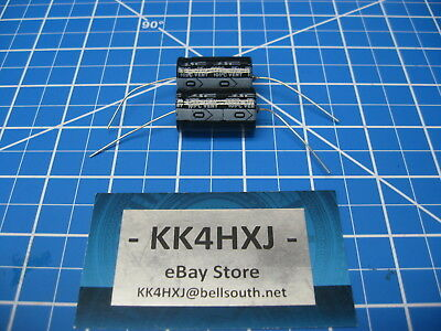 3300uf 35v Axial - Electrolytic Capacitors - Lot Of 2 - Sc Brand
