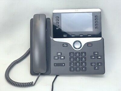 Cisco Cp-8851-k9 Color 5 Screen Ip Voip Business Phone No Stand