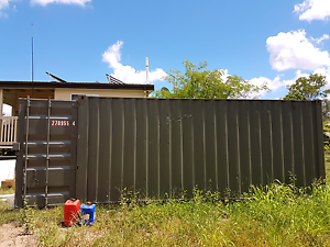 20 FT A GRADE SHIPPING CONTAINER Samford Village Brisbane North West Preview