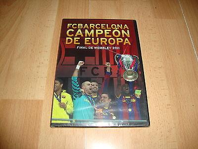 FC BARCELONA CAMPEON DE EUROPA FINAL DE WEMBLEY 2011 BARÇA DVD NUEVA...