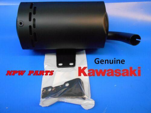 OEM KAWASAKI, Muffler Comp Bracket Set, p/n 49070-6001 ,49070-7002 , 490706001,