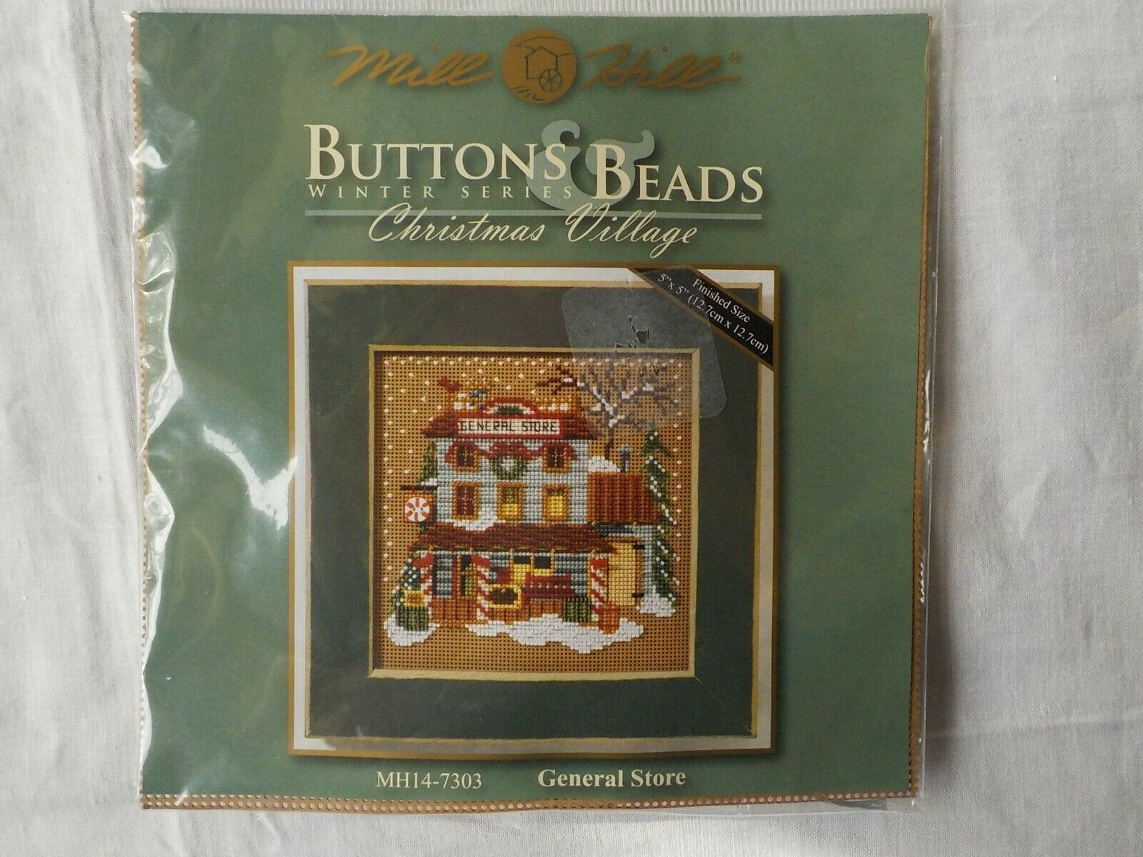"MILL HILL CROSS STITCH KIT BUTTONS & BEADS ~ MH14-7303 ~ ""GE"