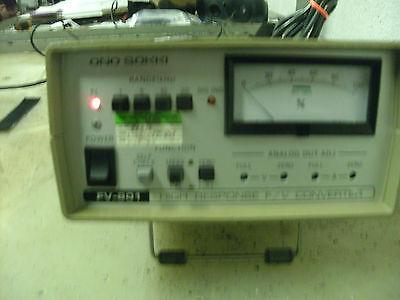 Ono Sokki Fv-801 High Presure Fv Converter