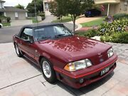 1989 Ford Mustang GT Convertible - 5 speed manual - RHD Glenmore Park Penrith Area Preview