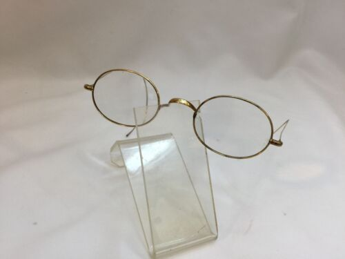 Antique Gold Plated Reading Glasses