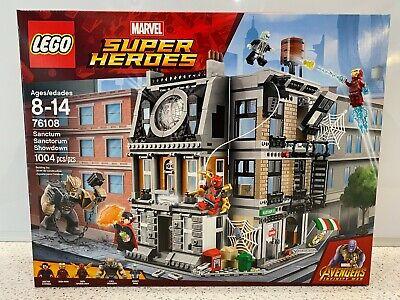 LEGO Marvel Super Heroes 2018 Sanctum Sanctorum Showdown (76108) New, Sealed NIB