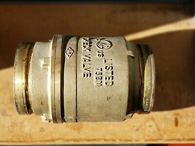4 Check Valve Brass Body Grooved Ends 175psi Ulfm - Fire Protection