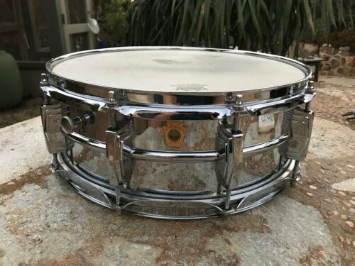 Vintage Ludwig Supraphonic Snare Drum 1966 : 5 X 14. 10 lug